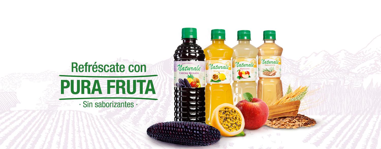 Natural, pura fruta